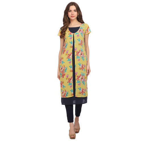 Cotton Printed Ethnic Wear Ladies Kurta