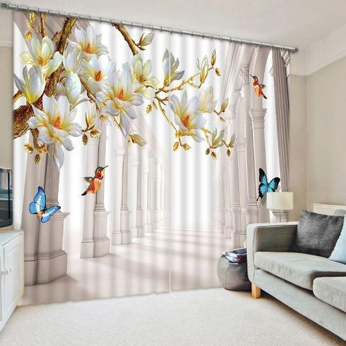 Multicolor Mural Enhancing 3D Photo Curtain, Rs 1500 /meter | ID ...