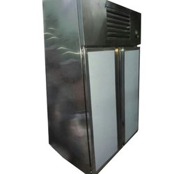 Double Door Stainless Steel Commercial Refrigerator, Capacity: 500 L