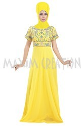 Long Floor Touch Maxi Dress For Women's