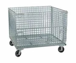Metal Alloy Cage Trolley, Load Capacity: 500-2000 Kg