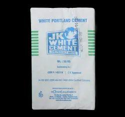 50 Kg JK White Cement, Cement Grade: Grade 43, Packaging Type: PP Sack Bag