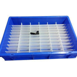 Removable HDPE Partition Crate