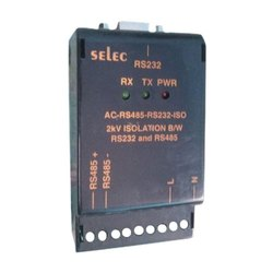 9 Pin Connector (female) Selec Data Converter, Model Name/Number: Ac-rs485-rs232-iso