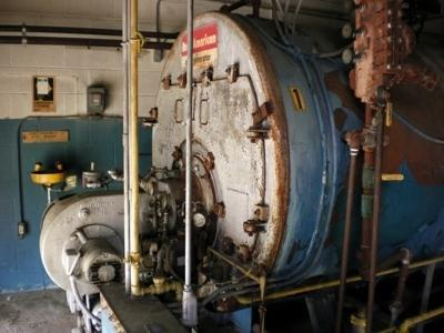 Used Industrial Steam Boiler with Turbine