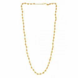 Golden Stone Studded Necklace