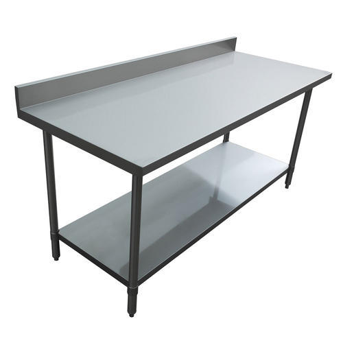 Stainless Steel Kitchen Work Table: Stainless Steel Kitchen Work Table At Rs 8000 /unit