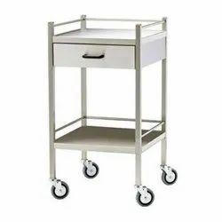 1 SS ECG Machine Trolley