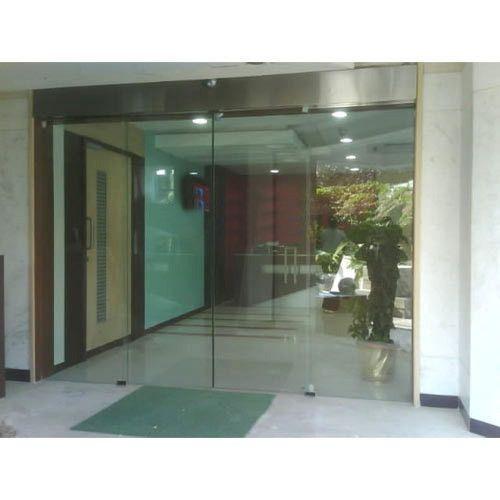 Sensor Sliding Glass Door At Rs 100000 Piece Automatic Sliding