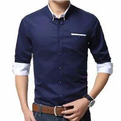 TB Premium Satin Smooth Cotton Men's Formal Shirt