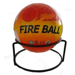 30mm A B C Dry Powder Type Fire Ball Extinguisher, Capacity: 2Kg