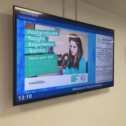Rectangle 50 - 60 Hz Digital Sign Board, For Advertising