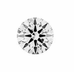1.1ct Lab Grown Diamond CVD K VVS2 Round Brilliant Cut IGI Certified Stone