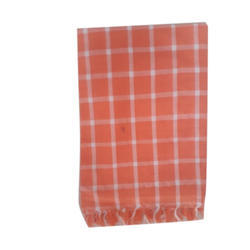 Checked Cotton Towel, Weight (GSM): 100