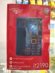 ITEL it2190 Mobile Phone, Gsm Service: 900/1500 Mhz