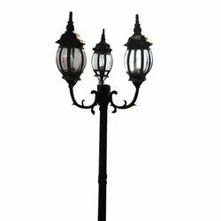 Triple Arm Street Light Pole