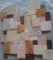Beige Stone Wall Cladding Art 003, Size: 12x12, Packaging Type: Box