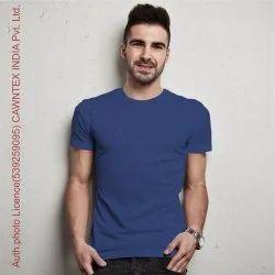 Male Round Cotton Tshirt