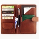 Brown Travel Wallet