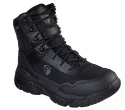 SKECHERS SAFETY SHOES 77515 BLK Markan Tactical