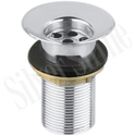 Silver Color Full Thread Waste Coupling