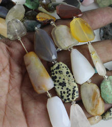 Multi Faceted Tumble Beads
