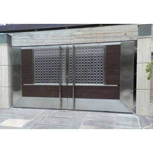 Laser Design Ss Main Gate At Rs 1650 Square Feet Ali