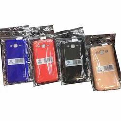 Silicon Samsung Multi Color Mobile Back Cover