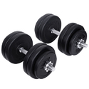 Adjustable Dumbbells Round Exercise Dumbbell, Weight : 2.5 To 15 Kg
