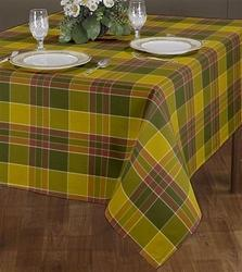 Check Design Table Cloth