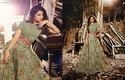 Green Fancy Anarkali Suit