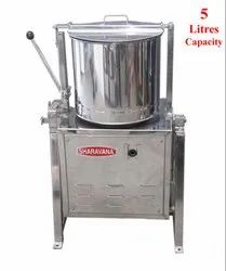 5 Litres Capacity Sharavana Commercial Tilting Wet Grinder Light Box Type