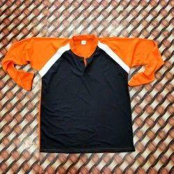 Polyester Plain Full Sleeve Sublimation T-Shirt