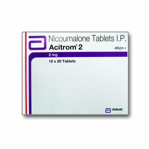 Acitorm 2 Acenocoumarol Acitrom, Prescription, In Strip, Rs 344 /per unit    ID: 14237908012