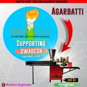 SWADESHI AGARBATTI MAKING MACHINE