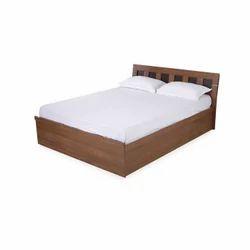 Nilkamal Walnut Reegan Queen Bed