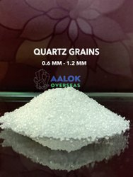 Quartz Grains Snow white