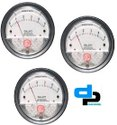 Galaxy Model G 2000-10 MM Magnehelic Gauges Ranges 0-10 MM WC