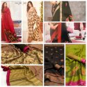 Trendzkafe Casual Wear Tk-Lenin Palash Sarees, 6.3 Mtr With Blouse Piece