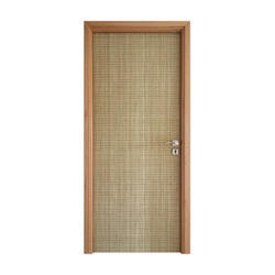 Light Brown Hinged Plain PVC Laminate Door for Home