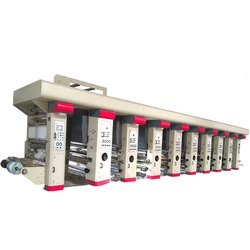 Multicolor Rotogravure Printing Machine in India