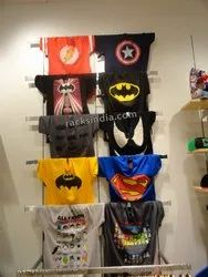 T-Shirts Display Wall