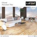 Porcelain Lucent Digital Glazed Vitrified Tiles, Thickness: 8 - 10 Mm, Packaging Type: Box