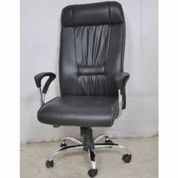 Synthetic Leather Revolving Hydraulic Chair