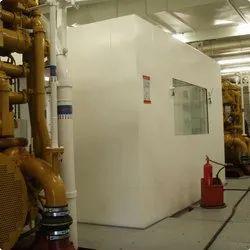 Mild Steel Operator Sound Proof Cabin