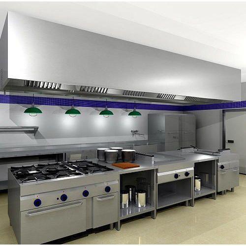 Restaurant Kitchen Designing Services In Peeragarhi New Delhi Akreeti Industries Id 14856543973