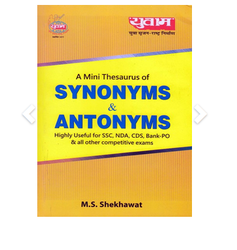 Synonyms And Antonyms Book