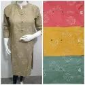 Ladies Cotton Casual Kurties