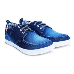 Denim Casual Lace Up Shoes