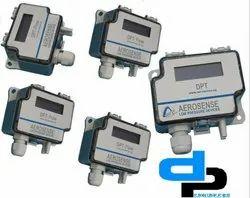 Aerosense Model DPT 7000-R8-3W Differential Pressure Transmitter Range 0-1000 Pascal